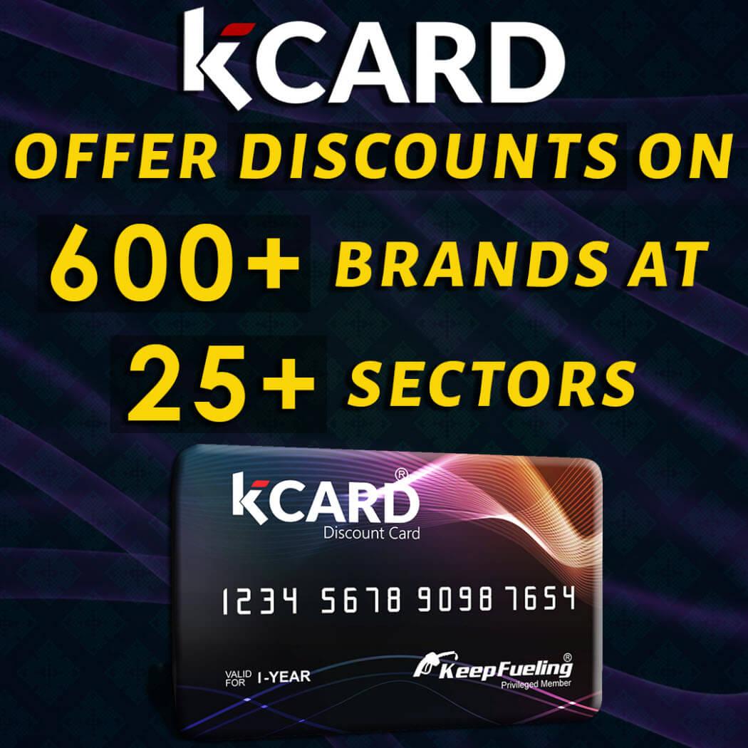 K CARD - Best Discount Card