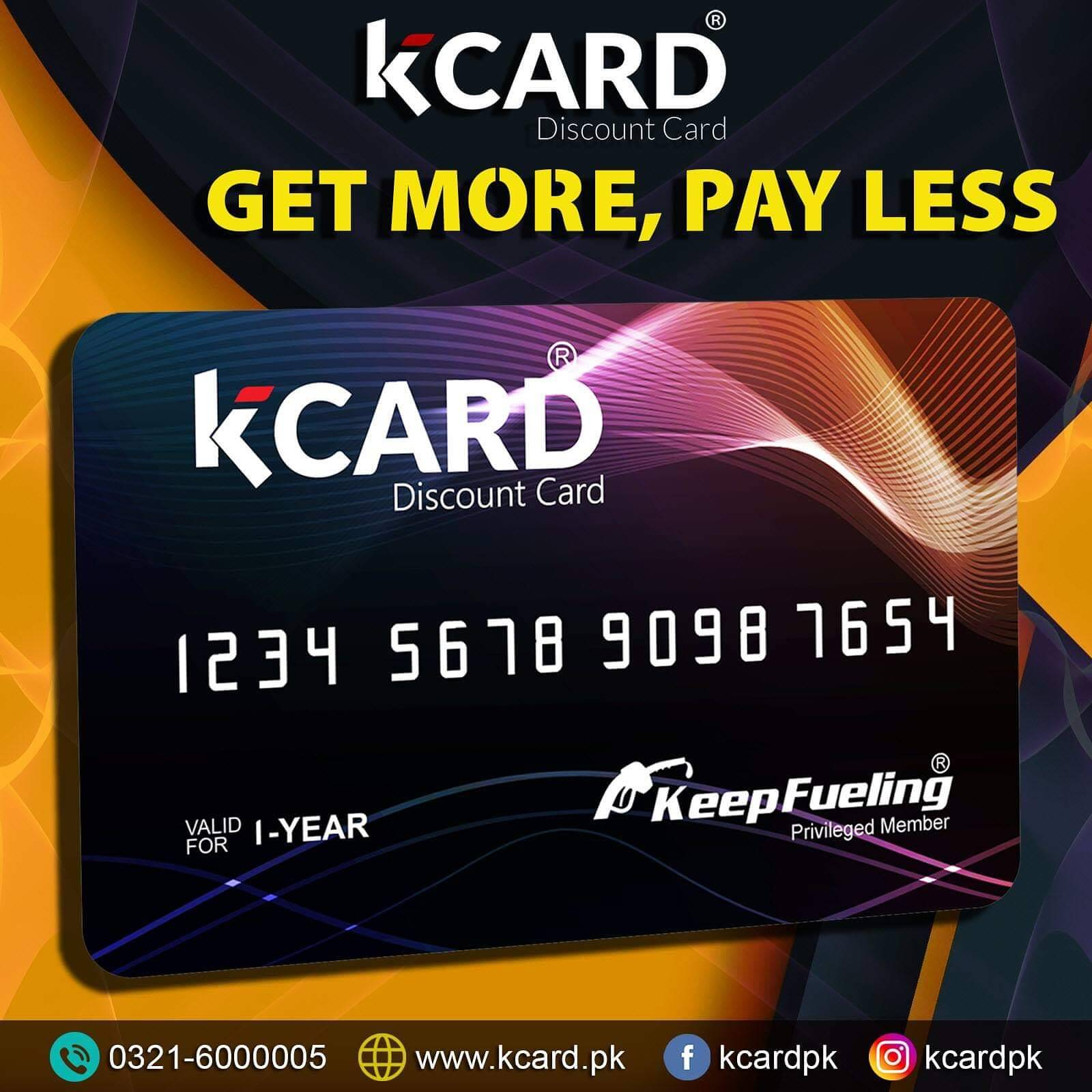 K CARD - Get More, Pay Less